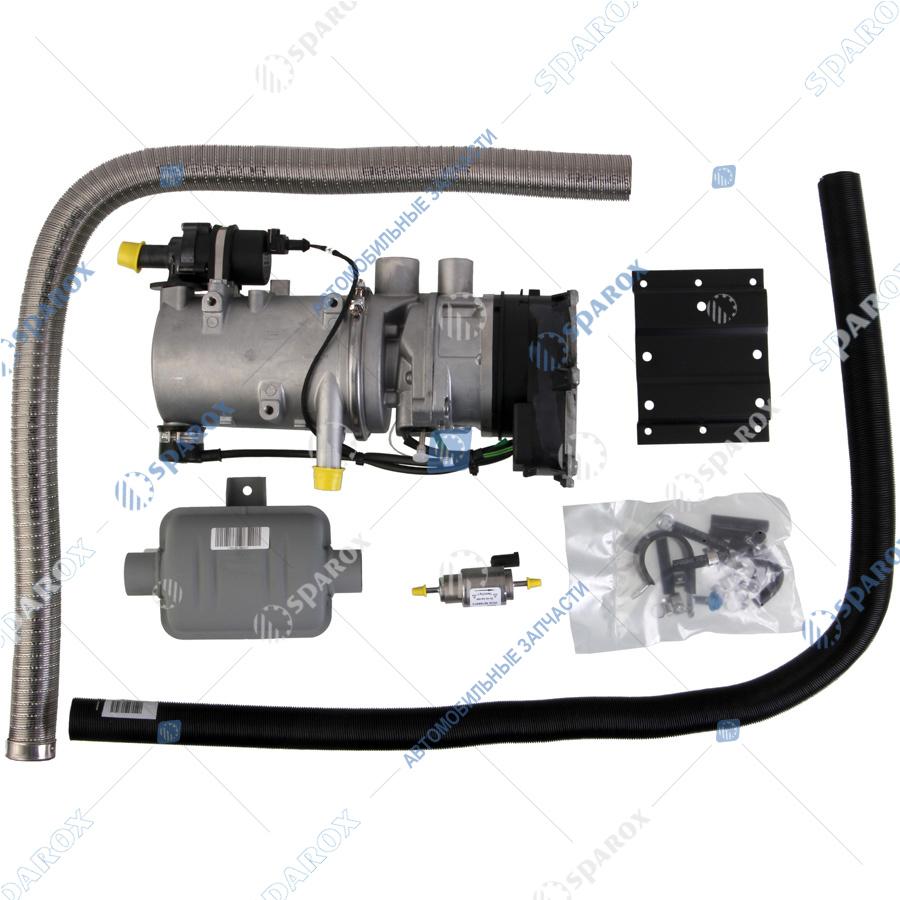 WEBASTO-9031890C Отопитель автономный жидкостный Thermo 90 pro 24V - 9,1 kW с установочным комплектом