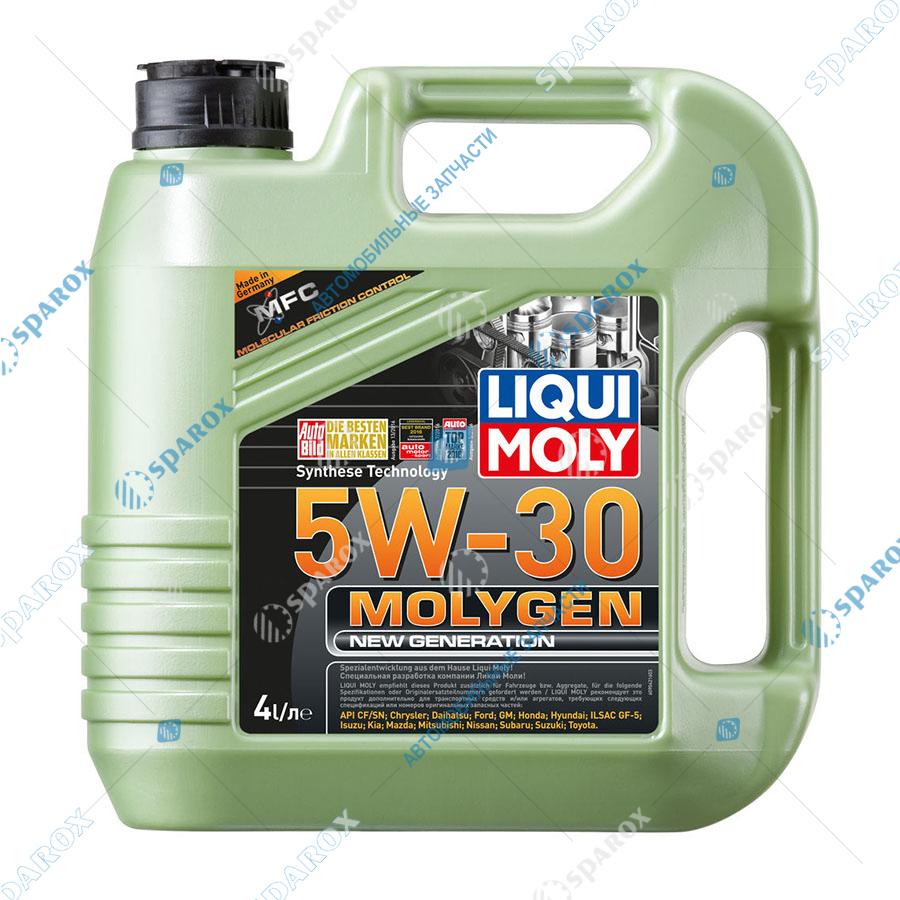 LIQUI MOLY-9042D Масло мотор. синт. Molygen New Generation 5W-30  4л +фонарик