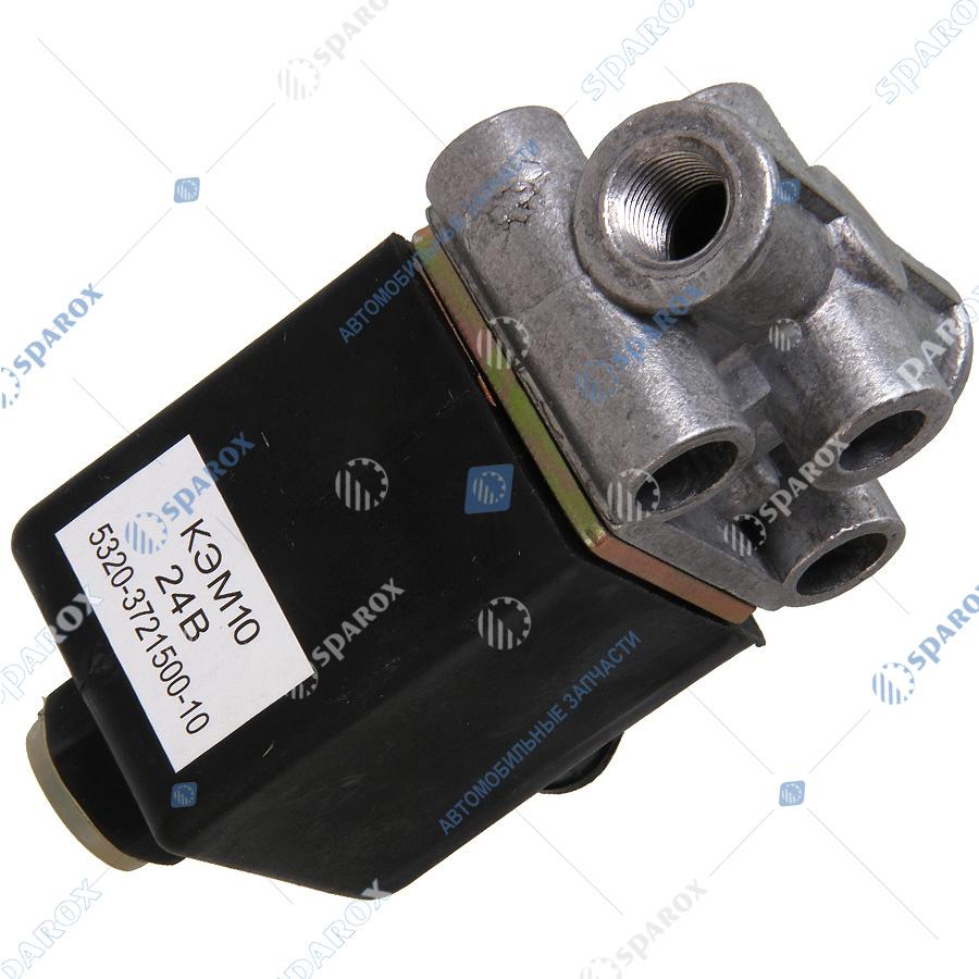 КЭМ10-3721500кэм10 Клапан с электромагнитом КЭМ10(-02) (квадратный)