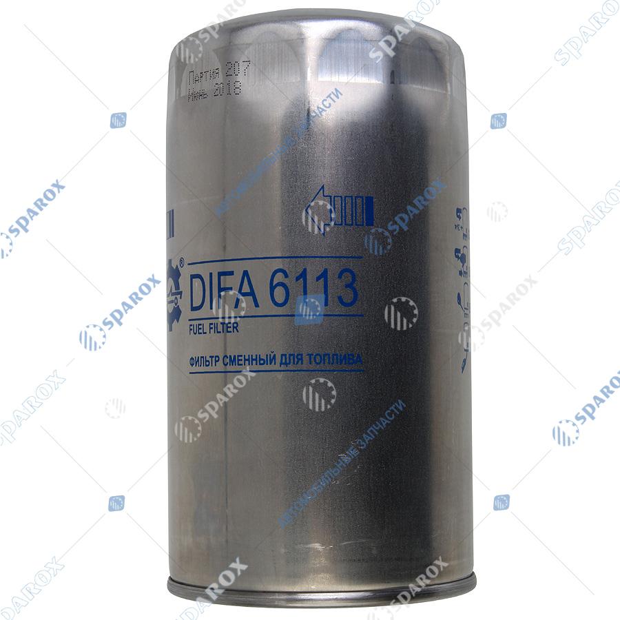 7511-1117075 Фильтр топливный (Т6113) резьбовой (аналог Т6103, ФТ047) ЯМЗ-650, 651 (СОАО Дифа)