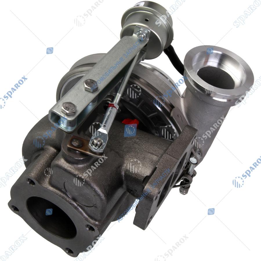 536-1118010-01 Турбокомпрессор МАЗ ТКР-80.05.12 двигатель ЯМЗ-536 ЕВРО-4 (ТУРБОТЕХНИКА)
