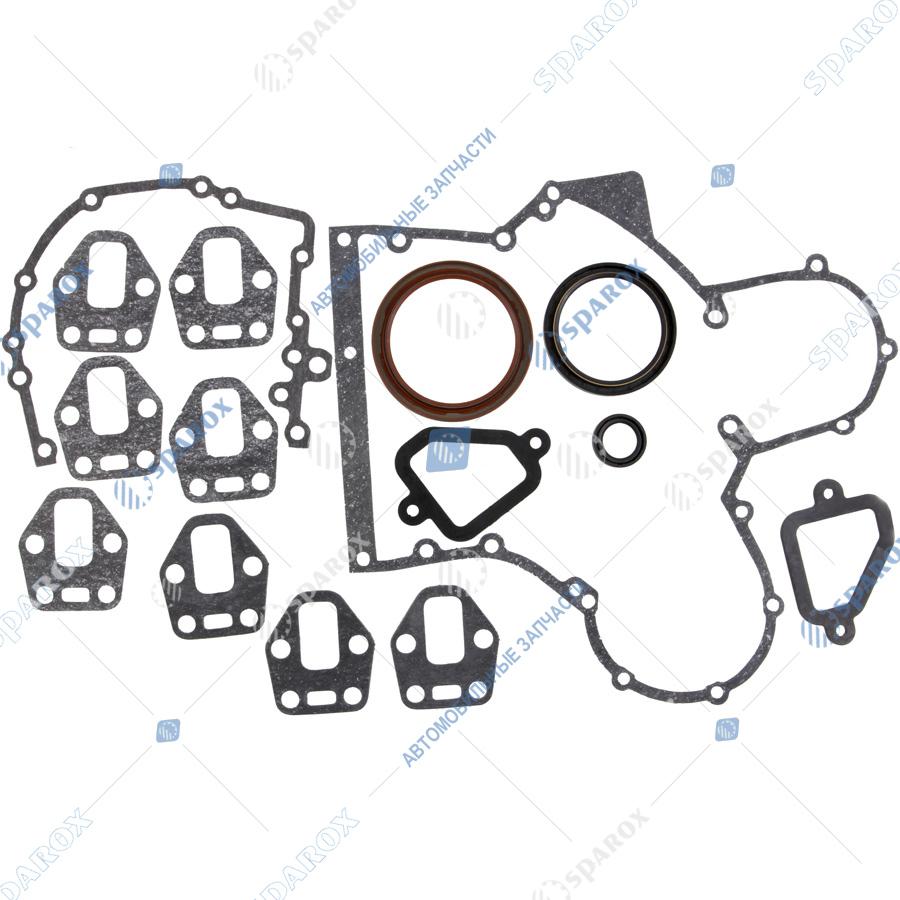 7406-1002009-36 РК Ремкомплект двигателя полный (прокладки, кольца, сальники) Камаз ЕВРО-2 (36 позиций) (КАМРТИ)
