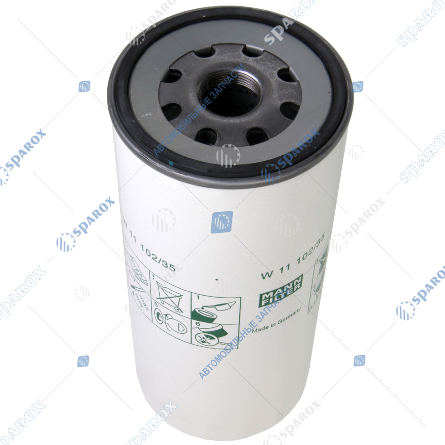 MANN-W1110235 Фильтр масляный  ЯМЗ-650, 536, 534 Евро-3 LF3477/W11102/35/W1110211/(аналог 5010550600) (MANNFILTER)