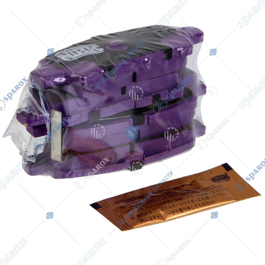 NIBK-PN2466 Колодки тормозные дисковые задние NISSAN INFINITI