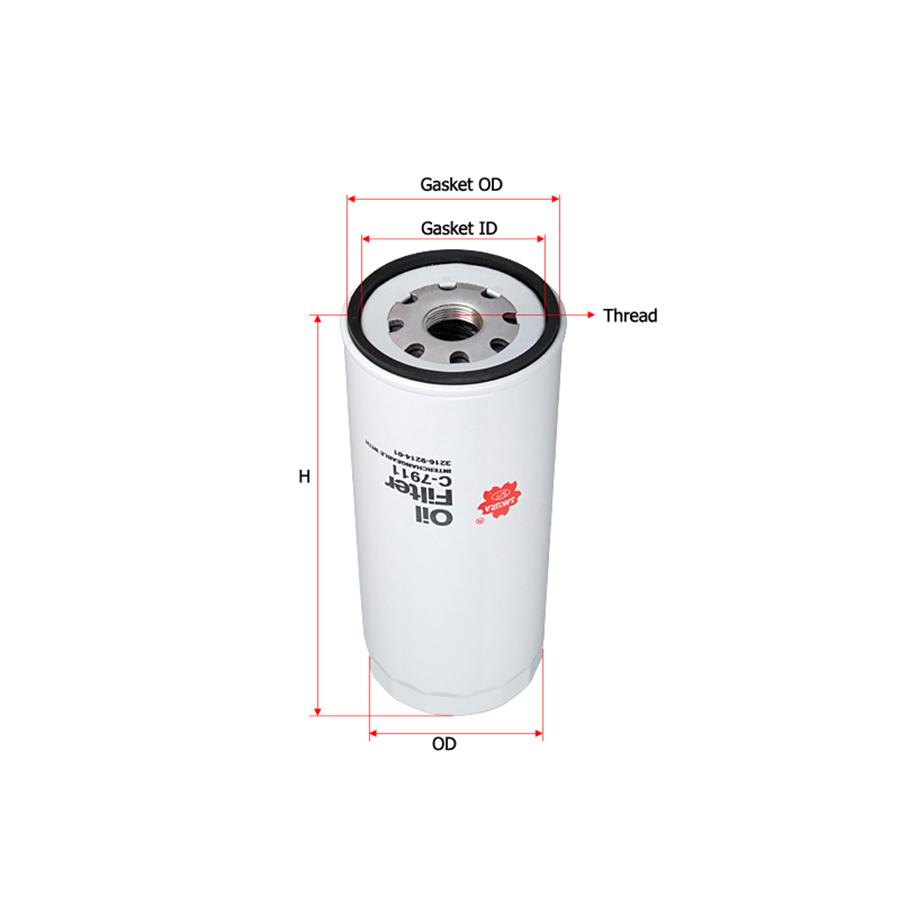 Sakura-C7911 Фильтр масляный