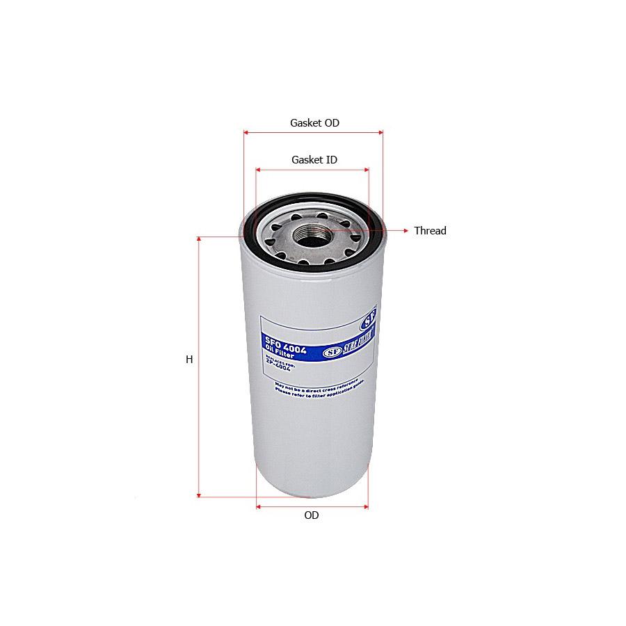 Sure filter-SFO4004 Фильтр масляный