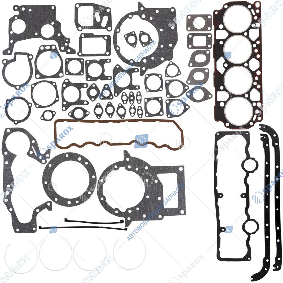 50-КН-5410 Ремкомплект прокладок двигателя ГАЗ, ЗИЛ ММЗ Д-245 Евро-3 (полный с ГБЦ с герметиком ВАТИ) Ко-Нов
