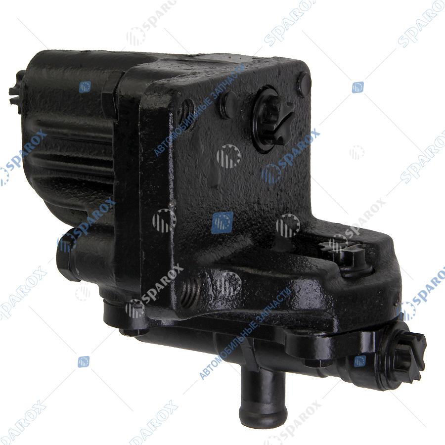 33081-3407010 Коробка клапанная насоса ГУР ГАЗ-33081, 3309 ШНКФ 453479.350 (ОАО БАГУ)