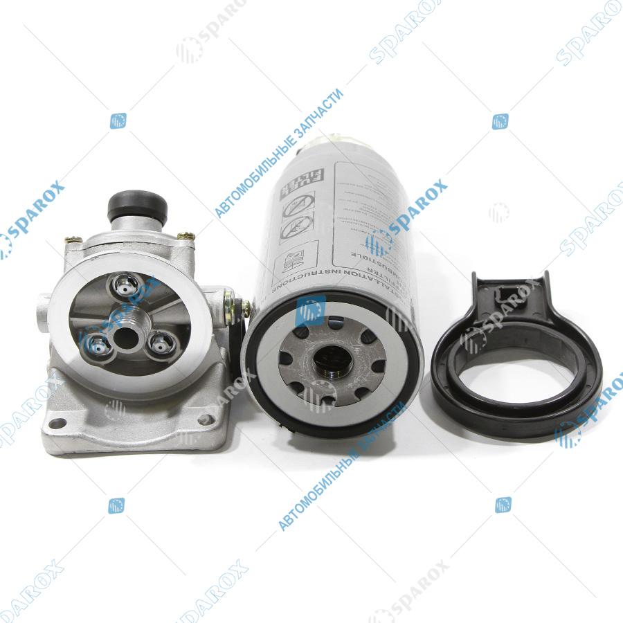 PL420 Фильтр топливный Камаз, МАЗ, УРАЛ в сборе PL420 грубой очистки с ключом