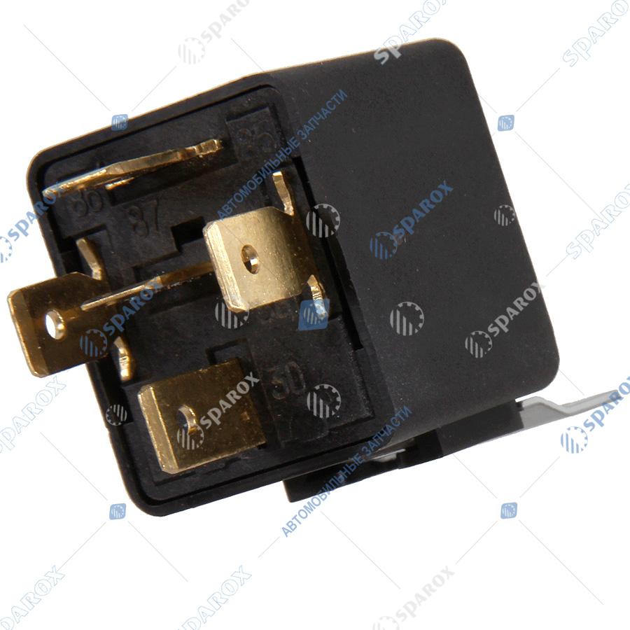 901-3747 Реле электромагнитное 5-ти контактное с кронштейном (тип БОШ) 24В 751.3777/901.3747 (ОАО АВАР)