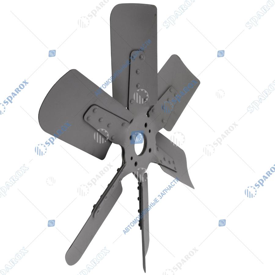 238Н-1308012 Крыльчатка вентилятора МАЗ, УРАЛ, КрАЗ (ПАО Автодизель) 50*600 дв. ЯМЗ-238Д, Б