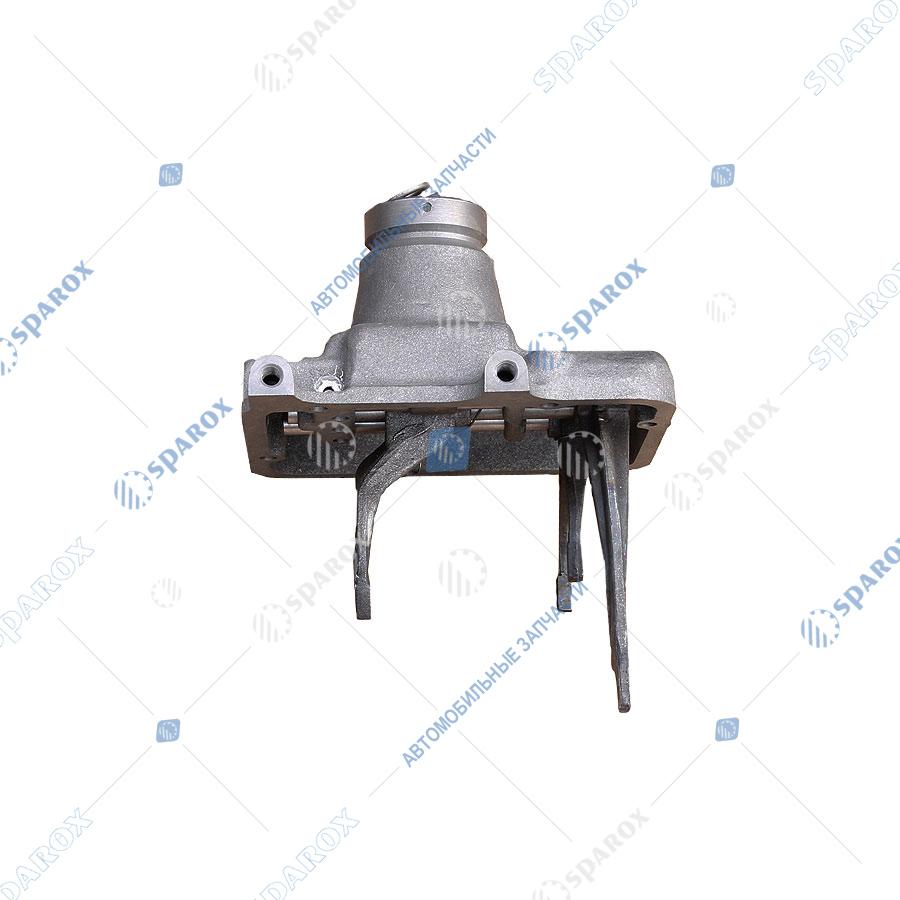 3307-1702010-10 Крышка коробки переключения передач (КПП) ГАЗ-3307 в сборе нового образца с широкой вилкой (ОАО ГАЗ)