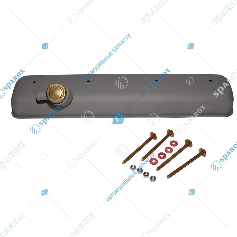 238-1003256-Б3 Крышка головки блока цилиндров (ГБЦ) КрАЗ, УРАЛ с горловиной в сборе (Автодизель)