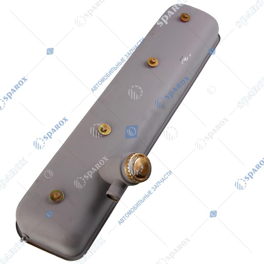 238-1003256-В3 Крышка головки блока цилиндров (ГБЦ) КрАЗ, МАЗ, УРАЛ с горловиной в сборе (Автодизель)