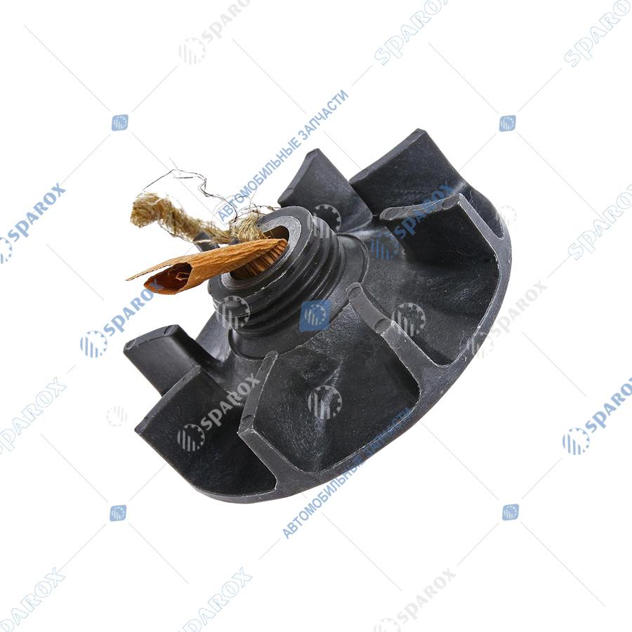 13-1307016 Крыльчатка водяного насоса в сб. ДВ-511, 513, 5234 ГАЗ-53, 3307, 66, ПАЗ (ОАО ЗМЗ)