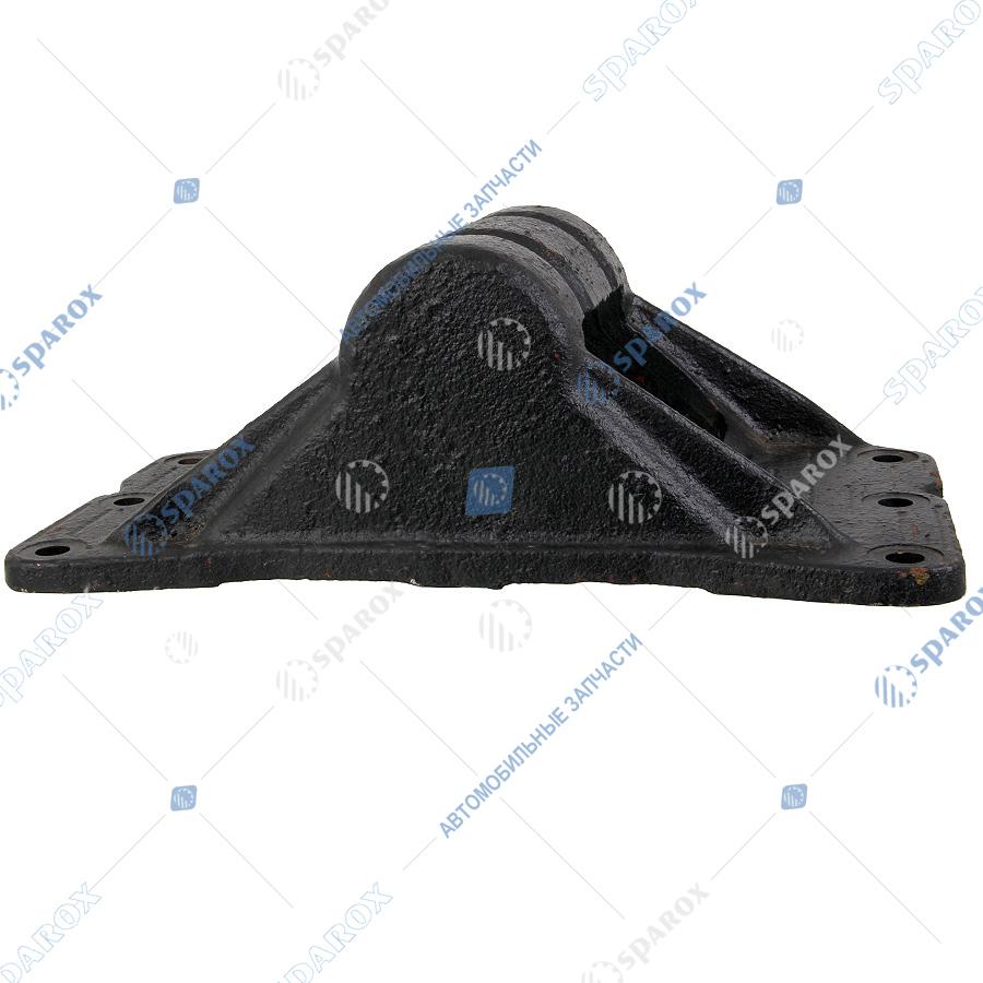 64221-2702071 Кронштейн седельного устройства МАЗ, КрАЗ, УРАЛ, Камаз 6 отверстий, hк=150 мм (ТАиМ)