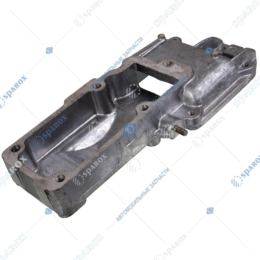 236-1002255-В4 Крышка блока МАЗ, УРАЛ, КрАЗ передняя верхняя (Автодизель)