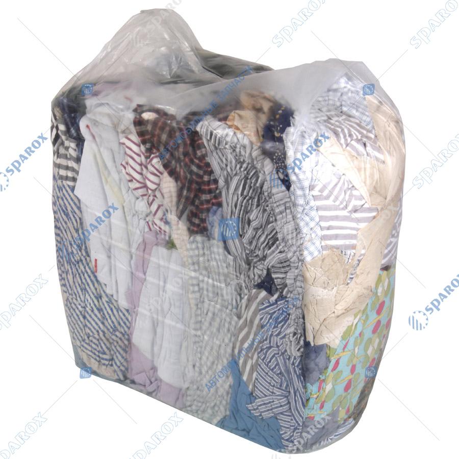 Т-Ветошь Ветошь в брикетах х/б цветная (упаковка по 10 кг)