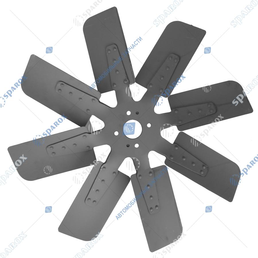7511-1308012 Крыльчатка вентилятора МАЗ,УРАЛ,МЗКТ (Автодизель) 50*660, 8 лопастей дв.ЯМЗ-7511