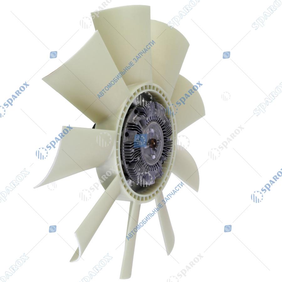 8.8805-1308012 Крыльчатка с муфтой вязкостной Borg Warner 660мм (020003896/020004136) 8.8839/8.8805