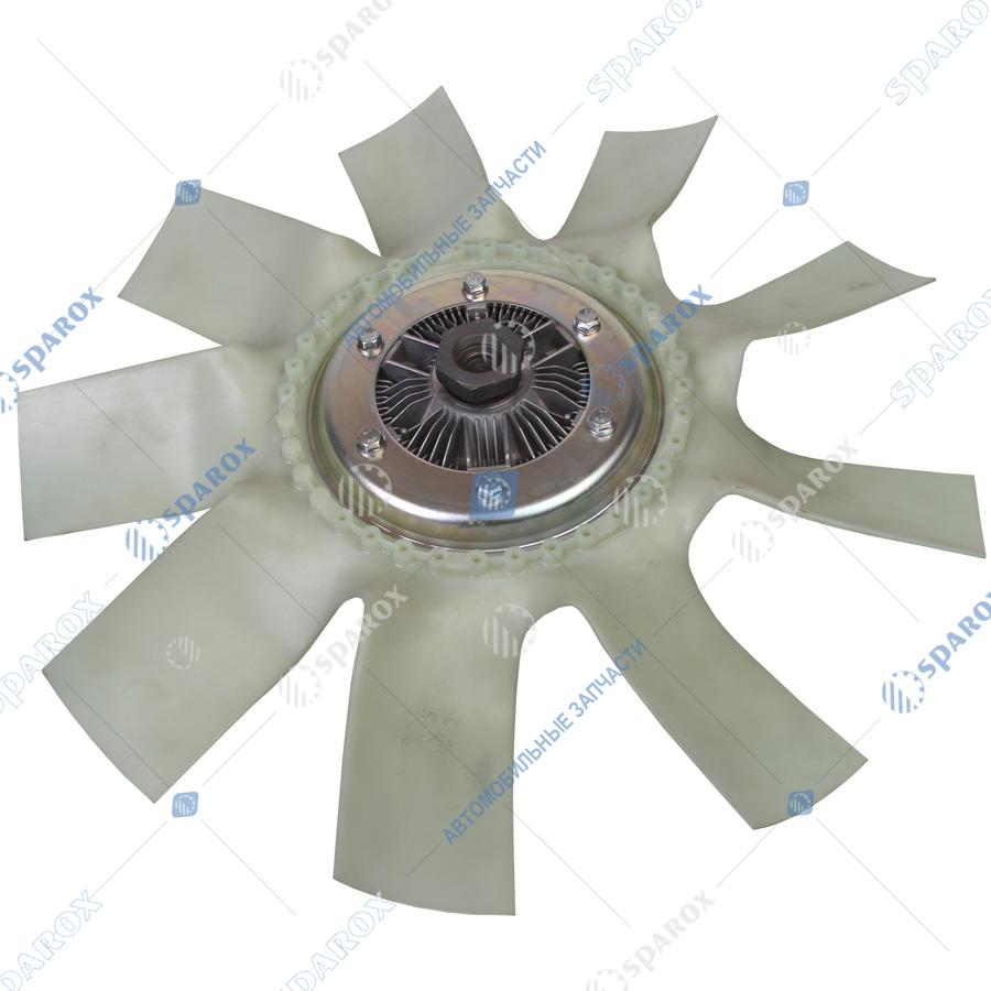 8.8885-1308012 Крыльчатка с муфтой вязкостной Borg Warner 600мм (020004190)