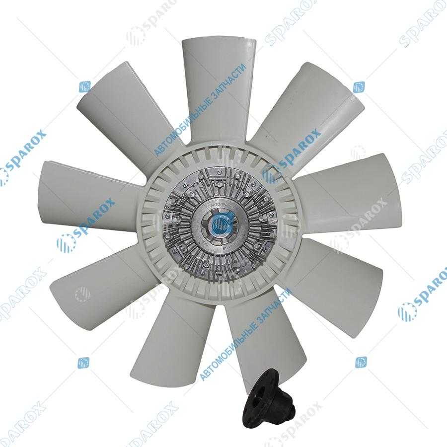 8.9160-1308012 Крыльчатка с муфтой вязкостной 660 мм (ВМПВ-001.00.01-СБ) для 8-ми цилиндровых двигателей 8.9160