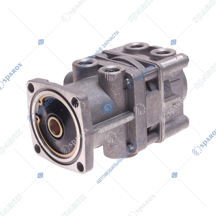 8090-3514100-00 Кран тормозной 2-контурный  (БелОМО)