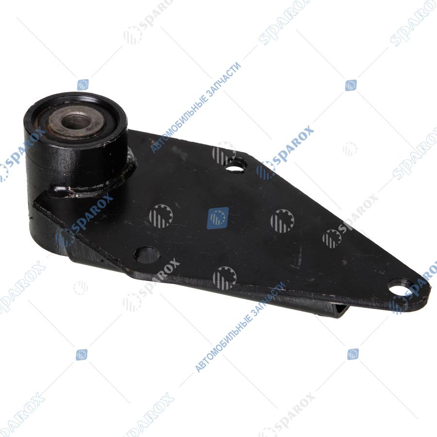 4370-2902446 Кронштейн передней рессоры МАЗ задний (ОАО МАЗ)