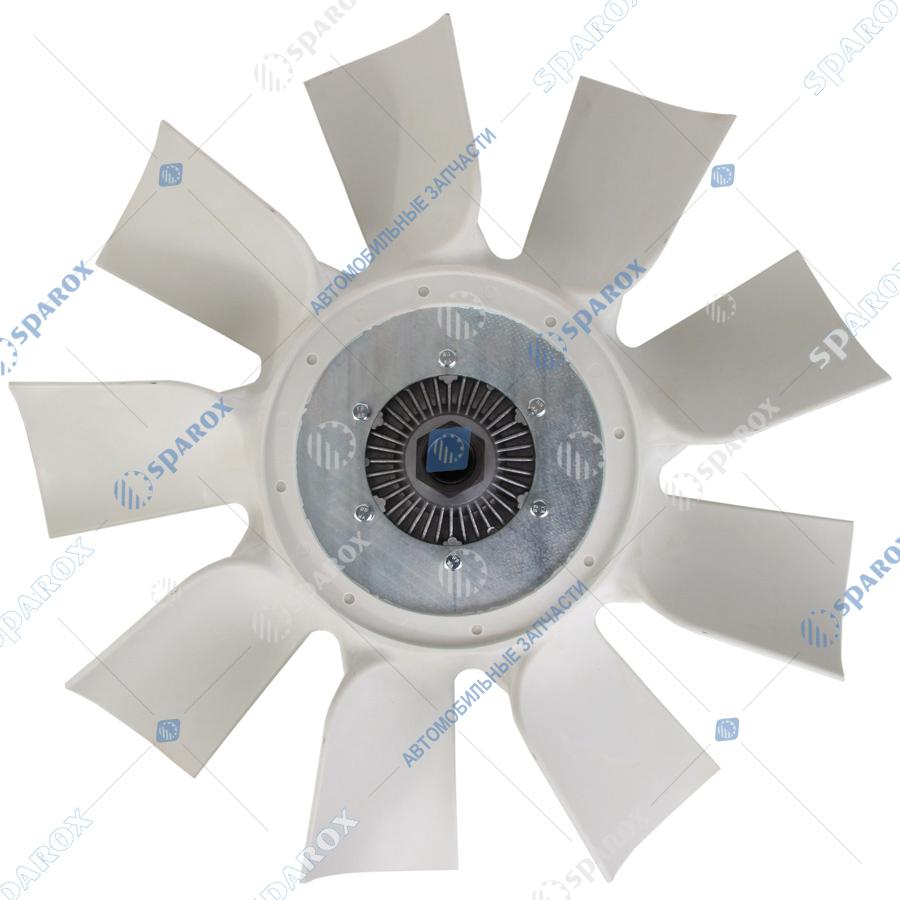 536-1308010-03 Крыльчатка с муфтой вязкостной 650 мм (ВМПВ 001.00.12-СБ) для ЯМЗ-536 6-ти цилиндровых двигателей