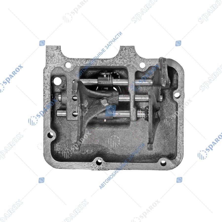 53-1702010 Крышка КПП ГАЗ-52, 53 в сборе старого образца