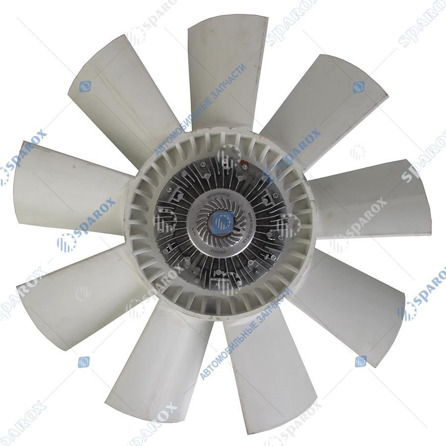 8.9292-1308012 Крыльчатка с муфтой вязкостной 660 мм УРАЛ(ВМПВ-001.00.05-СБ) ЯМЗ-236НЕ2-3, 24 8.9292