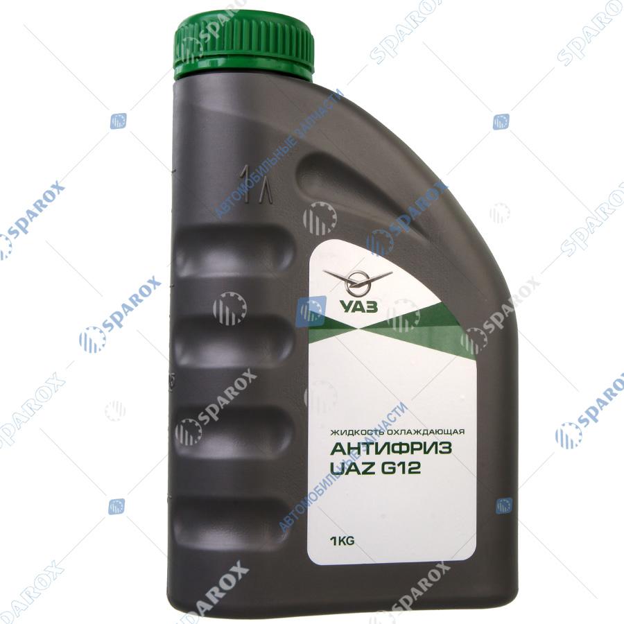 000000473401600 Антифриз UAZ G12 1 кг зеленый (LUKOIL)