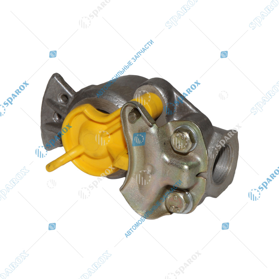 11-3521511 Головка соединительная тип ПАЛМ-желтая с фильтром (ПААЗ)